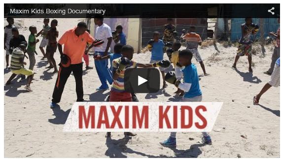 Maxim Kids Boxing Documentary